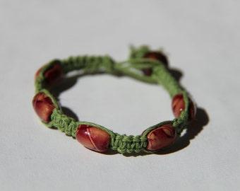 Green Hemp Bracelet