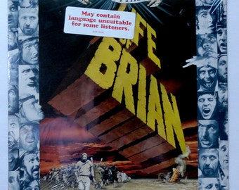 "Rare ""Life of Brian"" Vinyl Soundtrack (1979) Monty Python - Sealed"