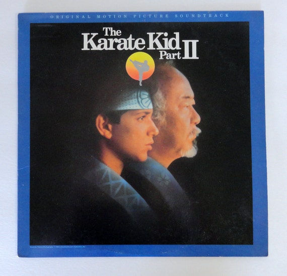 "Rare ""Karate Kid Part II"" Vinyl Soundtrack (1986) - Very Good Condition"