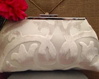 Ivory Bridal Clutch