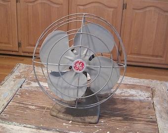 Vintage General Electric Oscillating Fan