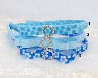 Handwrap Petite Girls Headband in Choose of Colors