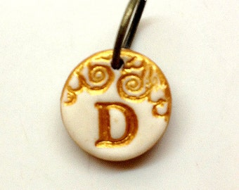 Extra Letter Medallion - Add a small medallion to your necklace- with shipping fee