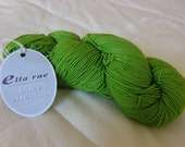 Ella Rae Lace Merino, fingering weight yarn, Lime Green color