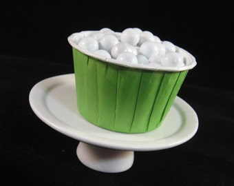 Green  Baking Cups, Candy Cups, Dip Cups, Nut Cups, Weddings, Party Cups, Candy Buffets, Wedding Cupcakes, Favor Cups, QTY 12
