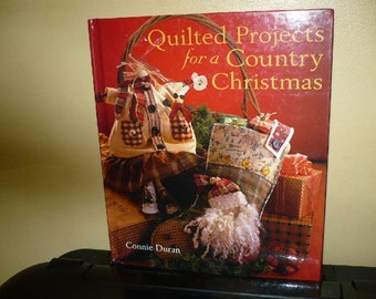 1/2 Price - Quilted Projects For A Country Christmas - Hardback