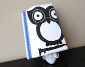 NEW!! Modern Black and White Owl - Children's Night Light