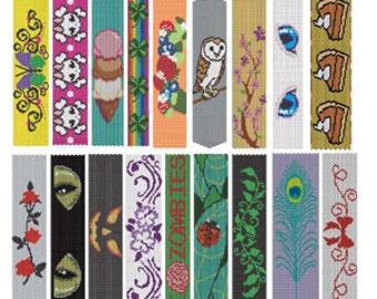 2-Drop Peyote Bracelets Beading Pattern Collection of 19 Designs