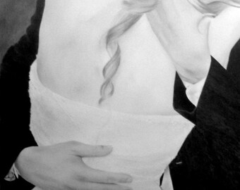 Custom Portrait From Your Photo - 16x20 Family Child Children Wedding Original Pencil Sketch Art Drawing