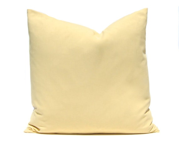Pillow Cover Decorative Throw Pillow Cover Solid Pale Gold
