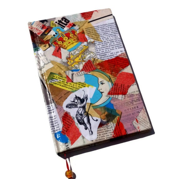 Mexican Loteria collage Notebook