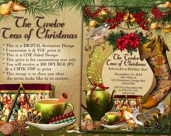il_340x270.647107885_5xg8 tea party invitation princess tea party birthday tea party,Christmas Tea Party Invitations