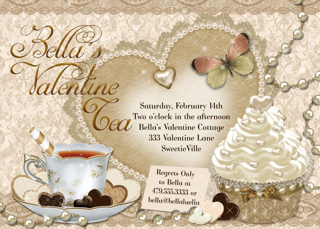 Valentines tea party | Etsy