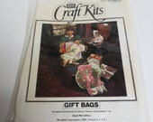 Vintage Craft Kit - Christmas Gift Bag for Girl and Boy - Never Been Opened