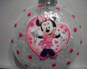 Single Ornaments - Minnie Mouse inspired