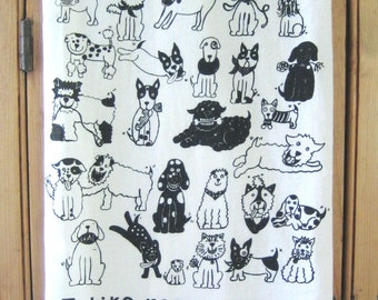 Rescue Dogs Kitchen Towel