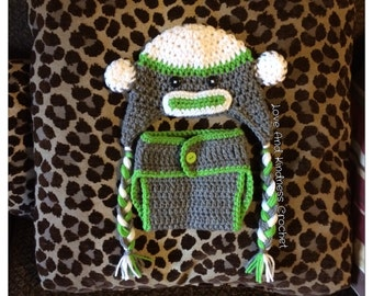 Sock Monkey Outfit
