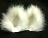 Assorted Color Fuzzy Kitty Cat Ear Clips with/with out Tail