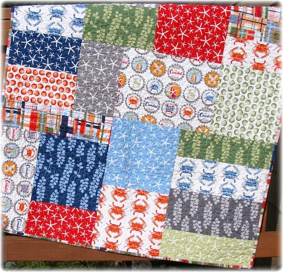 Large Modern Block Quilt Pattern