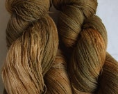OLIVINE - 1 x 100g BFL Lustre 2ply Laceweight