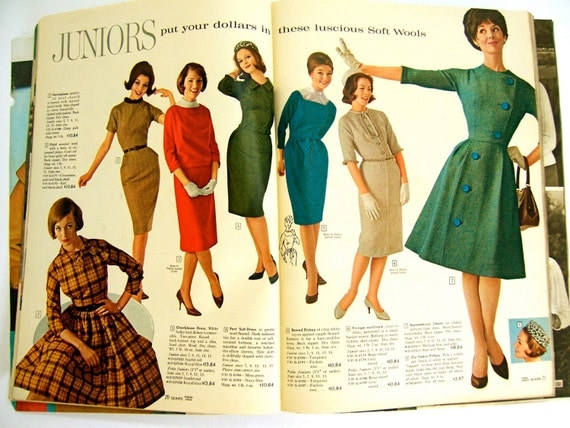 Fall Winter 1961 Sears Catalog With on table radios at sears
