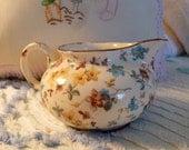 Erphila art pottery cream pitcher Cambridge pattern CzechoSlovakia