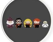 Instant Download,Free shipping,Cross stitch pattern, PDF,harry potter doll,doll cross stitch ,pixel doll,zxxc0465