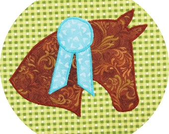 Horse Applique Pattern - Instant Download