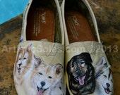 Sled Dog Custom TOMS Shoes - IV