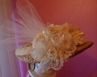 Bridal Veil Hat