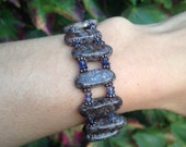 Calming iolite and jasper equinox bracelet