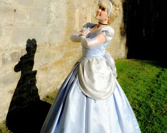 Ladies Blue Princess Ballgown - Custom made Costume, Cinderella Costume, Classic Cinderella, Adult costumes, Princess Costumes