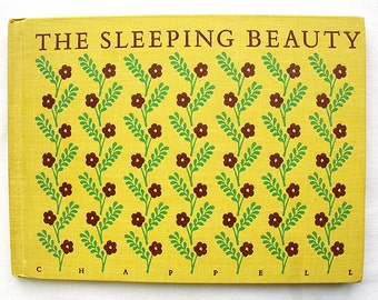 Vintage The Sleeping Beauty Hardcover Color Illustrations 1961 Great Condition