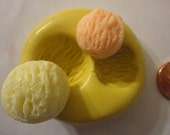 Sale--kawaii flexible silicone mold for ice cream scoop cabochon  ---USA seller