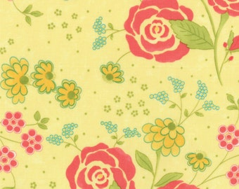 Chance of Flowers by Sandy Gervais - Sun Large Floral (17761-15) - 1 Yard