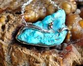 Freeform Turquoise Necklace