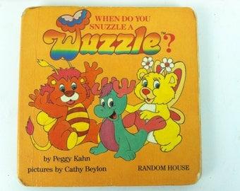 Disney Hasbro Wuzzles Book 1985