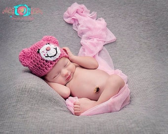 Newborn Care Bears Hats-Bright Collection