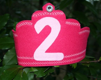 Second birthday crown