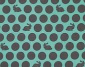 Tula Pink, Fox Field, Hoppy Dot in Shade, Dot Fabric, One Yard