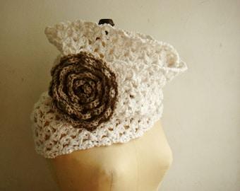 PATTERN Crochet Chunky Cowl, Loop Scarf Crochet Pattern, Circle Scarf Pattern, Crochet Pattern Infinity Scarf, Crochet Flower Pattern, 236