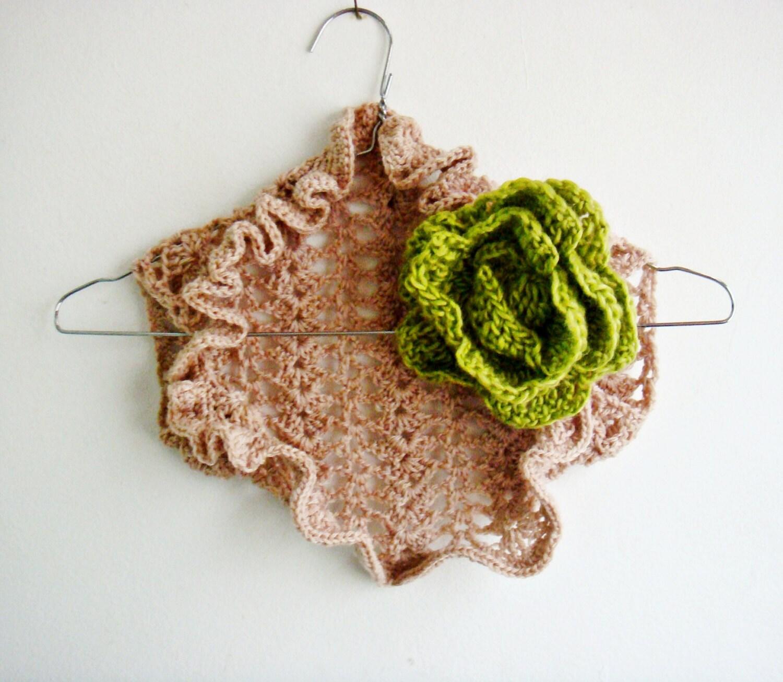 Crochet Flower Shrug Pattern : Kids Shrug Crochet Pattern Girl Crochet Shrug PATTERN with