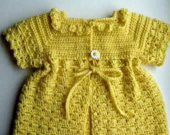 Yellow Daisy Sweater