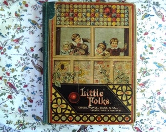 Antique Book Little Folks: A Magazine For The Young By Cassell,Petter,Galpin & Co.