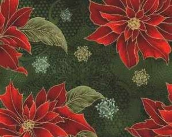 Holiday Flourish II fabric by Peggy Toole for Robert Kaufman Style 9159