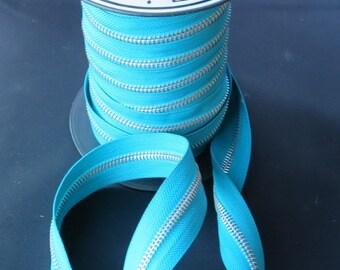 Maya Road Zipper Trim - Sea Blue