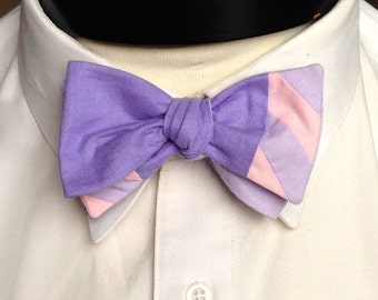 The Walt - Our Disney Inspired bowtie in Rapunzel colors