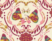 Painted Ladies Kiss  EMG-5609 - EMMY GRACE collection - Bari J for Art Gallery Fabrics - By the Yard