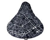 Bike Seat Cover Paris Map