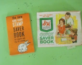 Vintage King Korn Stamp Saver Book and S&H Green Stamps Quick Saver Book